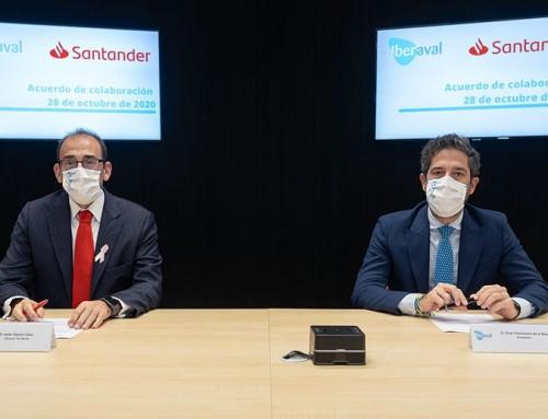 Iberaval y Banco Santander aportarán 100 millones de euros en financiación